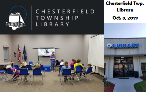 Chesterfield Twp. Library 10-08-19